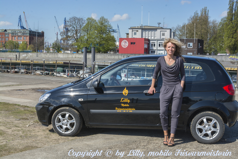Lilly, mobile Friseurmeisterin